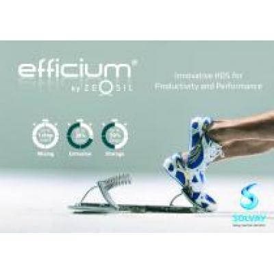 Группа компаний Solvay представляет Efficium® – инновационный высокодисперсный кремний, повышающий эффективность производства и улучшающий рабочие характеристики автомобильных шин