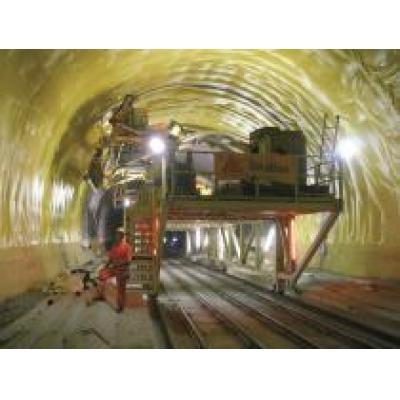 Швейцарская стройка века: более 3,3 млн кв. м. полимерных мембран Sikaplan потребовалось для гидроизоляции Готардского тоннеля
