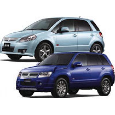 Suzuki Escudo и Suzuki SX4 «Helly Hansen» вышли в Японии