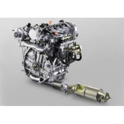 Эко-дизельный двигатель Honda обещает рекорды экономичности