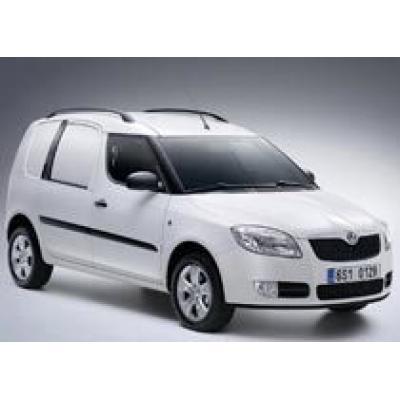 Новый коммерческий автомобиль на российском рынке - Skoda Praktik