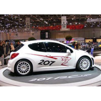 Peugeot 207 RC - уже в продаже