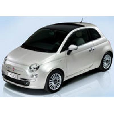 В Италии официально представили миникар Fiat 500