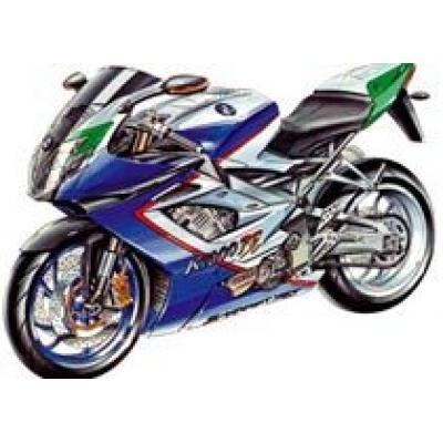 Заряженный мотоцикл BMW K 1000 RS выстрелит в августе 2008