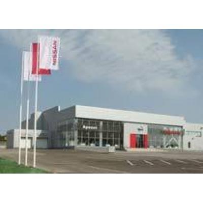 Nissan открыл два дилерских центра в российских регионах