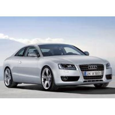 Первое появление нового купе Audi A5 / Audi S5