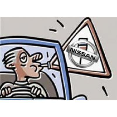Автомобили Nissan не пустят пьяных водителей за руль