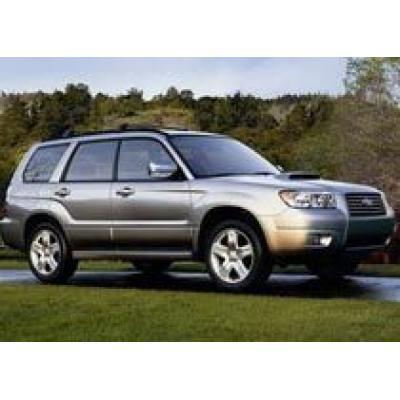 Subaru Forester 2008 заработал 5 звезд по безопасности на краш-тестах