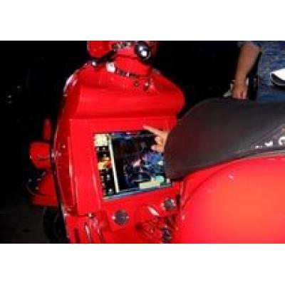 Vespa GTS 250 может выходить в Интернет