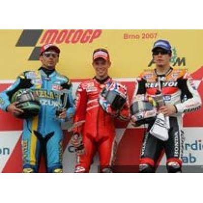 Седьмая победа Кейси Стоунера в 2007 сезоне MotoGP