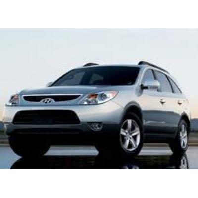 Hyundai отзывает 6300 внедорожников Veracruz