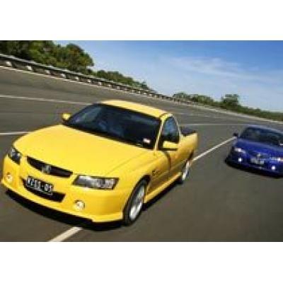 Holden доделал новый `грузовой` седан