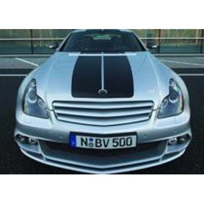 Ателье ART разработало свою версию `четырехдверного купе` Mercedes CLS
