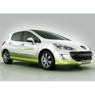 Peugeot 308 Hybrid HDi - дизельно-электрический концепт