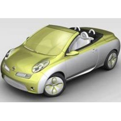 Nissan покажет во Франкфурте жидкоокрашенный Micra