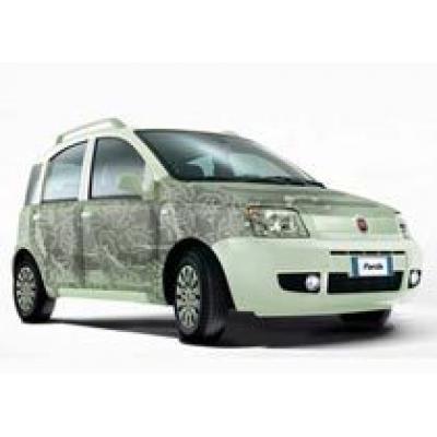 Эко-дружественный концепт Panda Aria от Fiat