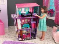В России появилась необычная игрушка - кукольный домик для куклы-монстра с силуэтом гробика