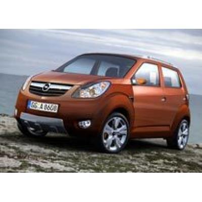 Opel выпустит мини-внедорожник