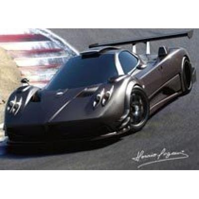 Pagani представил новые рисунки эксклюзивного суперкара Zonda R