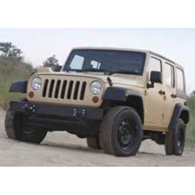 Jeep Wrangler Unlimited модернизировали для военных