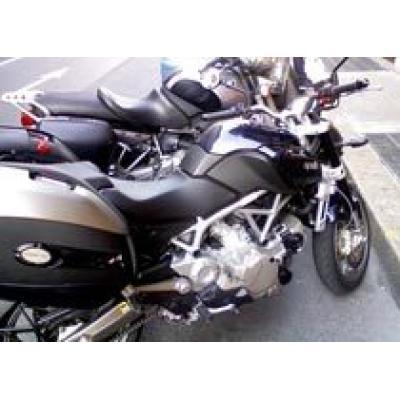 Шпионские фотографии нового мотоцикла Aprilia NA 850 Mana