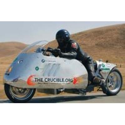 Новый рекорд скорости биодизельного мотоцикла BMW