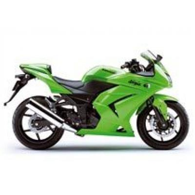 Первые фотографии Kawasaki Ninja 250R 2008