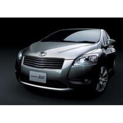 Toyota выпустила новый автомобиль Toyota Mark X Zio