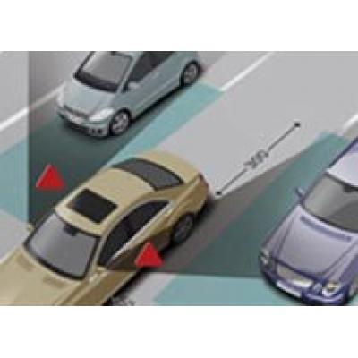 Mercedes ликвидирует мертвые зоны