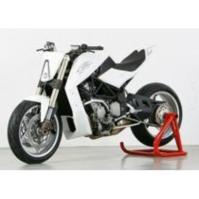 В Париже показали зверя - мотоцикл Yacouba