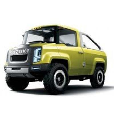 Новые фото джип-концепта Suzuki X-Head