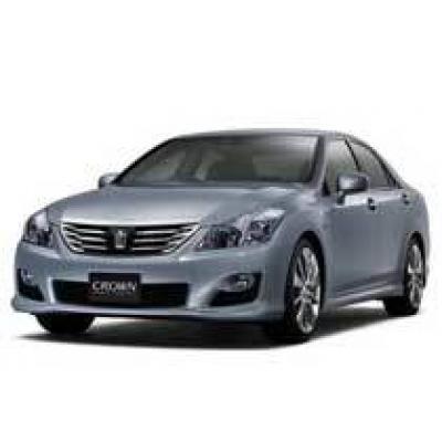Toyota показала гибридный седан Toyota Crown