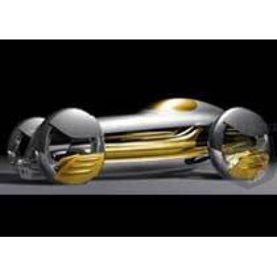 Автомобиль из жидкого металла