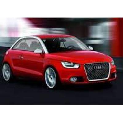 Audi рассекретила прототип хэтчбека A1