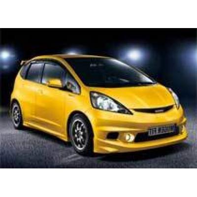 `Горячая` Honda Fit от Mugen