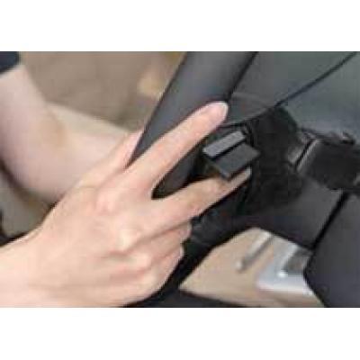 Hitachi встроила в руль идентификатор по венам пальцев