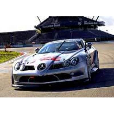 Британцы организовали монокубок для владельцев Mercedes SLR McLaren