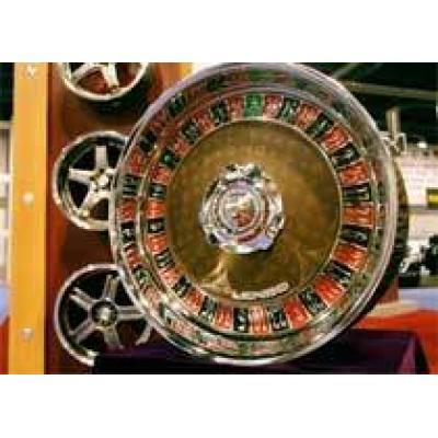 Чистый Лас-Вегас - колесные диски в виде рулетки