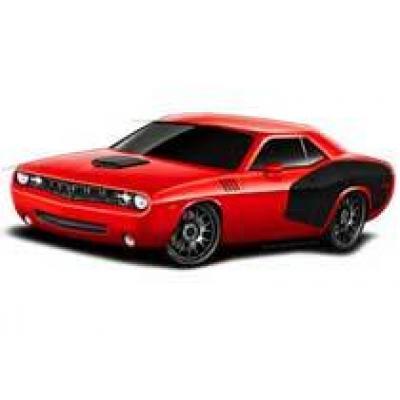 Dodge Challenger превращается в Cuda