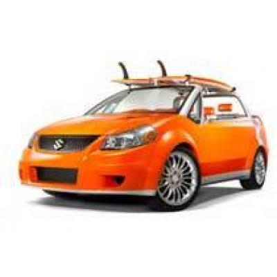 Suzuki сделала автомобиль для серфинга
