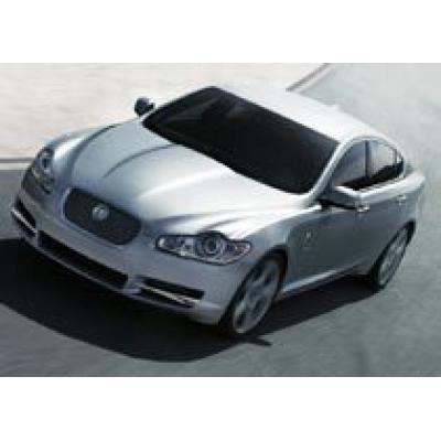 Jaguar XF – победитель в номинации `Лучший дизайн`