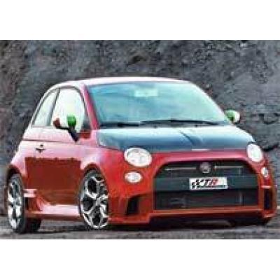 Итальянский малыш Fiat 500 оперился с помощью TRC-Marangoni