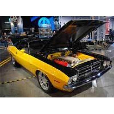 Dodge Challenger 1970 года с мотором от Viper