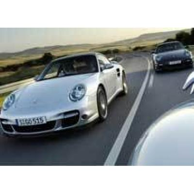 Цветочный вазон лишил хозяина Porsche 997 Turbo