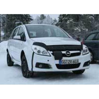 Opel Zafira `попался` до официального дебюта