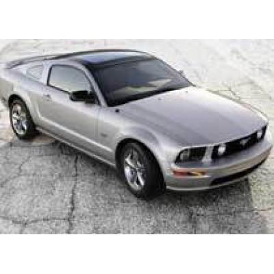 Ford выпустил Mustang со стеклянной крышей