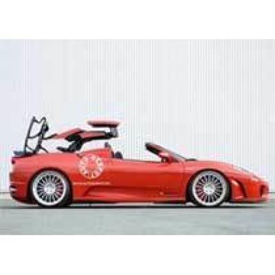 Ferrari F430 GT California: дебютант попался в сеть