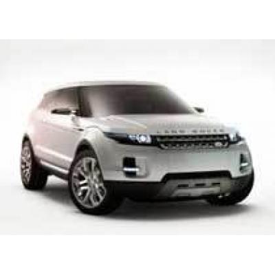 Концепт Land Rover LRX в Детройте
