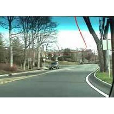 Лазер укажет водителю маршрут