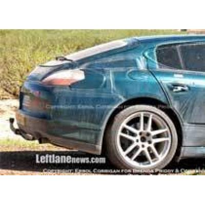 Новые шпионские фото Porsche Panamera